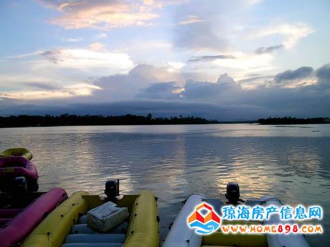 琼海特色旅游之万泉河游览风景区