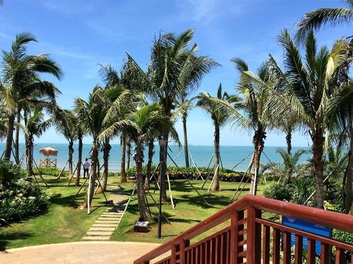 一线海景大社区长岛蓝湾南北通透几千米大沙滩